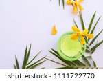 natural herbal soothing gel... | Shutterstock . vector #1111722770