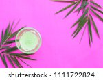 natural herbal soothing gel... | Shutterstock . vector #1111722824