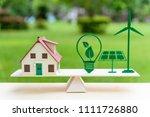 future clean   renewable or... | Shutterstock . vector #1111726880