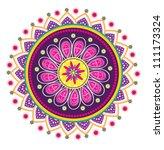 vector  culture art pattern | Shutterstock .eps vector #111173324