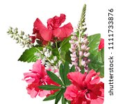 Beautiful Floral Background Of...