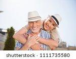 my sweetheart  portrait of... | Shutterstock . vector #1111735580