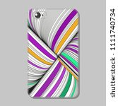 protective cover for mobile... | Shutterstock .eps vector #1111740734