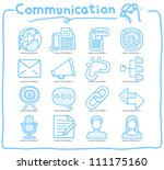 pure series   hand drawn... | Shutterstock .eps vector #111175160