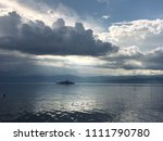 cgn boat on the leman lake with ... | Shutterstock . vector #1111790780