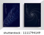 minimal covers or posters... | Shutterstock .eps vector #1111794149
