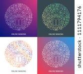 online banking concept. design... | Shutterstock .eps vector #1111794176