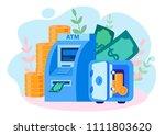 concept money  management of...   Shutterstock .eps vector #1111803620