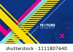 vector abstract background... | Shutterstock .eps vector #1111807640