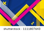 vector abstract background... | Shutterstock .eps vector #1111807643