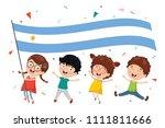 vector illustration of kid...   Shutterstock .eps vector #1111811666