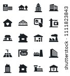 set of vector isolated black... | Shutterstock .eps vector #1111823843