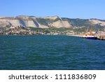seaport on the horizon   Shutterstock . vector #1111836809