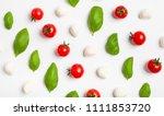 fresh cherry tomatoes  cherry... | Shutterstock . vector #1111853720