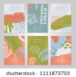 abstract colorful backgrounds... | Shutterstock .eps vector #1111873703