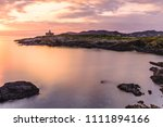 dawn at the beautiful...   Shutterstock . vector #1111894166