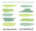 isolated label brush stroke... | Shutterstock .eps vector #1111894619