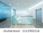 staircase in modern office | Shutterstock . vector #1111902116