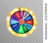 fortune wheel vector background.... | Shutterstock .eps vector #1111920416