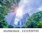 fresh green and shinjuku...   Shutterstock . vector #1111920743