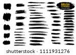 large set different grunge... | Shutterstock .eps vector #1111931276