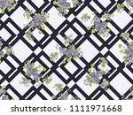 seamless colorful pattern in... | Shutterstock . vector #1111971668