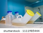 plastic cylinder to keep the... | Shutterstock . vector #1111985444