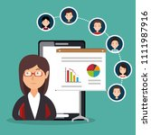 community social media people | Shutterstock .eps vector #1111987916