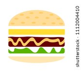 hamburger icon   vector fast... | Shutterstock .eps vector #1112004410