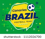 speech bubble brazil with icon... | Shutterstock .eps vector #1112026700