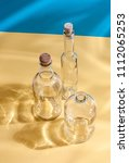 glass bottles of different...   Shutterstock . vector #1112065253
