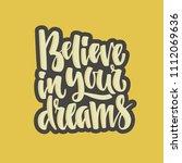 handdrawn lettering of a phrase ...   Shutterstock .eps vector #1112069636