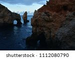 amazing and unique cliffs... | Shutterstock . vector #1112080790