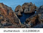 amazing and unique cliffs... | Shutterstock . vector #1112080814
