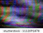 glitch universe background. old ... | Shutterstock . vector #1112091878