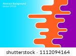 abstract vector background with ... | Shutterstock .eps vector #1112094164