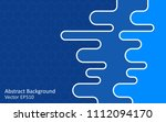 blue vector background with... | Shutterstock .eps vector #1112094170