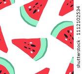 minimal summer trendy vector... | Shutterstock .eps vector #1112102534