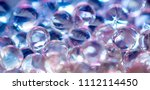 a lot of coloured balls. | Shutterstock . vector #1112114450
