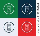 online store  icon. vector... | Shutterstock .eps vector #1112120264