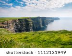 landscape view on cliffs of... | Shutterstock . vector #1112131949