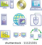 e communications vector icons... | Shutterstock .eps vector #11121331