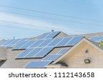 concept of renewable clean vs.... | Shutterstock . vector #1112143658