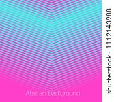 square abstract background with ... | Shutterstock .eps vector #1112143988