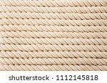 rope as background texture | Shutterstock . vector #1112145818
