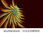 Multicolored Abstract Fractal...