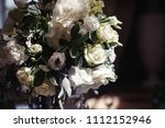 beautiful wedding flower... | Shutterstock . vector #1112152946