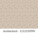 the geometric pattern with... | Shutterstock .eps vector #1112153990