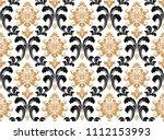 floral pattern. vintage... | Shutterstock .eps vector #1112153993