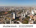 aerial view of cityscape of ... | Shutterstock . vector #1112159399